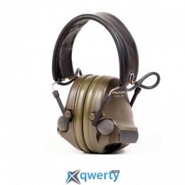 Наушники 3M COMTAX XP противошумовые активные зеленые (XH-0016-6058-4)