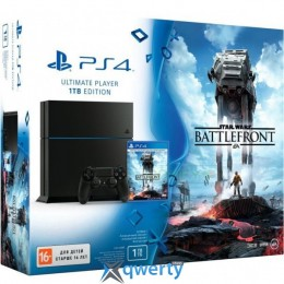 Sony PlayStation 4 Ultimate Player 1TB  + Star Wars: Battlefront, FIFA 16 купить в Одессе