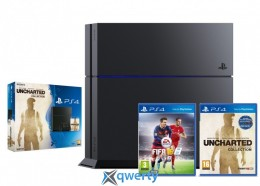Sony Playstation 4 1TB Uncharted + FIFA 16 купить в Одессе