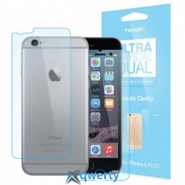Spigen Screen Protector Steinheil Dual Crystal (Front Back) for iPhone 6 Plus/6S Plus (SGP11207) купить в Одессе