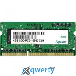 APACER SODIMM DDR3 4GB 1333 MHZ(AS04GFA33C9TBGJ) купить в Одессе
