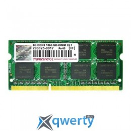 TRANSCEND SODIMM DDR3 4GB 1066 MHZ  (TS4GAP1066S)