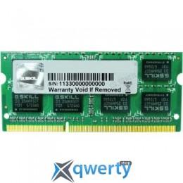 G.SKILL SODIMM DDR3 8GB 1600 MHZ  (F3-1600C11S-8GSL)