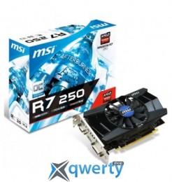 MSI PCI-Ex Radeon R7 250 2048MB DDR3 (R7_250_2GD3_OCV1)