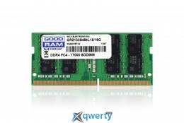 Goodram SO-DIMM 16GB/2133 DDR4 (GR2133S464L15/16G) купить в Одессе