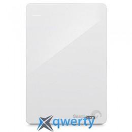 Seagate Backup Plus Portable 2TB STDR2000408 2.5 USB 3.0 External White + Rescue