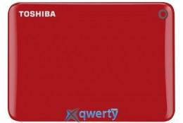 Toshiba Canvio Connect II 1TB HDTC810ER3AA 2.5 USB 3.0 External Red