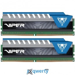 Patriot 16GB Viper Elite DDR4 2800 MHz Memory Kit (2 x 8GB)(PVE416G280C6KBL)