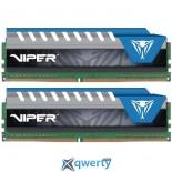 Patriot 16GB Viper Elite DDR4 3000 MHz Memory Kit (2 x 8GB)(PVE416G300C6KBL)