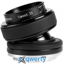 LENSBABY COMPOSER PRO W/DOUBLE GLASS FOR MICRO 4/3-(MIL) (LBCPDGM)