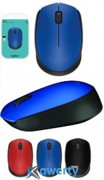 Logitech M171 WL Blue/Black