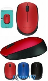 Logitech M171 WL Red/Black