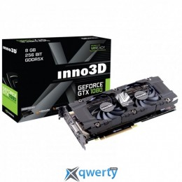 Inno3D PCI-Ex GeForce GTX 1080 TWIN X2 8GB GDDR5X(N1080-1SDN-P6DN)
