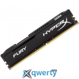 DDR4 16GB 2400 MHZ HYPERX FURY BLACK KINGSTON (HX424C15FB/16)