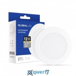 GLOBAL LED SPN 12W яркий свет (1-SPN-008)