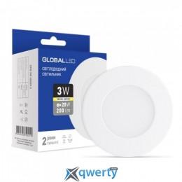 GLOBAL LED SPN 3W мягкий свет (1-SPN-001)