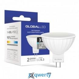 GLOBAL MR16 5W мягкий свет 220V GU5.3 (1-GBL-113)