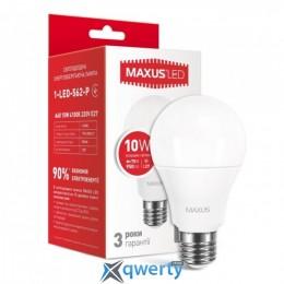 MAXUS A60 10W яркий свет 220V E27 (1-LED-562-P)
