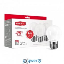 MAXUS G45 F 4W яркий свет 220V E27  (по 3шт.) (3-LED-5410)
