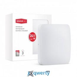 MAXUS LED настенно-потолочный 24W мягкий свет (1-LCL-005-06-S)