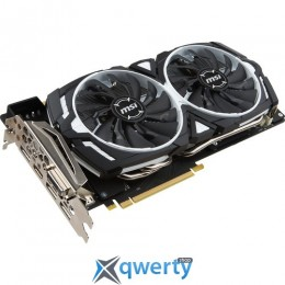 MSI GeForce GTX 1070 1556Mhz PCI-E 3.0 8192Mb 8008Mhz 256 bit DVI HDMI HDCP (GTX 1070 ARMOR 8G OC)