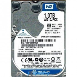 Western Digital 1.0TB Scorpio Blue 9.5mm (WD10JPCX)