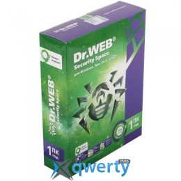 DR. WEB SECURITY SPACE 10, 1 ПК 1 ГОД (BHW-B-12M-1-A3)