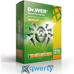 DR. WEB SECURITY SPACE 10, 2 ПК 2 ГОДА (BHW-B-24M-2-A3)