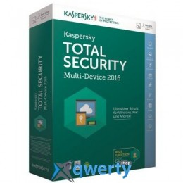 KASPERSKY TOTAL SECURITY (MULTI-DEVICE) 1+1 DEVICE 1 YEAR BASE BOX (KL1919OUBFS16) купить в Одессе
