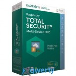 KASPERSKY TOTAL SECURITY (MULTI-DEVICE) 1+1 DEVICE 1 YEAR BASE BOX (KL1919OUBFS16)