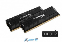 DDR4 16GB (2X8GB) 3200 MHZ SAVAGE BLACK KINGSTON (HX432C16PB3K2/16)