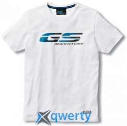 Мужская футболка BMW Motorrad GS Adventure T-Shirt, Men, White (р.XL)(76818561193)