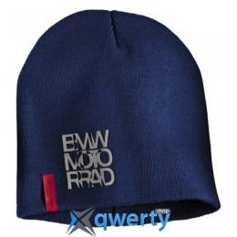 Шапка BMW Motorrad Logo Cap, Blue (76618547301)