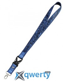 Шнурок с карабином BMW Motorrad Lanyard, Blue (76618547986)