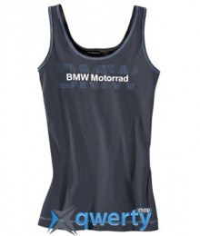 Женский топ BMW Motorrad Logo Top, for women, Dark Grey (р,M)(76618547551)