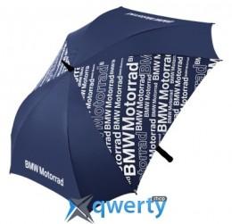 Зонт-трость BMW Motorrad Logo Umbrella Blue (76618547368)