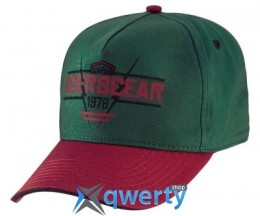Бейсболка BMW Motorrad Roadster cap, Green-Red (76868552706)