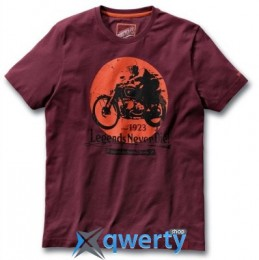 Мужская футболка BMW Motorrad Legends T-Shirt, for Men, Red-Brown (р.L)(76868561070)