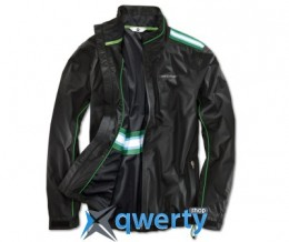 Мужская куртка BMW Golfsport Functional Jacket, men, Black/Green (р.L)(80142285744)