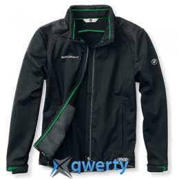 Мужская куртка BMW Men's Softshell Golfsport Jacket Black (р.L)(80142333780)