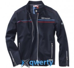 Мужская куртка BMW Motorsport Soft Shell Jacket, men, Team Blue (р.L)(80142285851)
