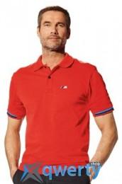 Мужская рубашка-поло BMW M Men's Polo Shirt Red (р.М)(80142344339)