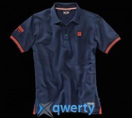 Мужская рубашка-поло Mini Men's Polo, You.Me.Mini. Blue (р.М)(80142338789)