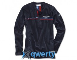 Мужской лонгслив BMW Motorsport Long-Sleeve Shirt, men, Team Blue (р.M)(80142285840)