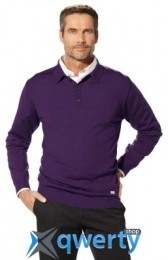 Мужской свитер BMW Collection Men's Knitted Polo Sweater purple (р.XL)(80142344465)