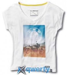 Женская футболка BMW Motorrad Roadster T-Shirt, Ladies, White (р.S)(76868561111)