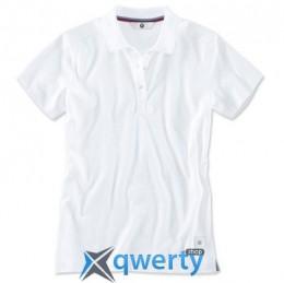 Женская рубашка-поло BMW Classic Polo Shirt, Ladies, White (р.L)(80142411045)