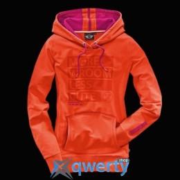 Женская спортивная толстовка Mini Ladies' Sweat Hoodie, Yours, Orange (р.XS)(80142288478)