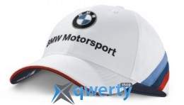 Бейсболка BMW Motorsport Team Cap for Collectors, unisex, White (80162285866)