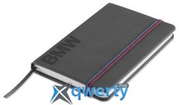 Блокнот BMW Wordmark Notebook, Space Grey(80242411117)